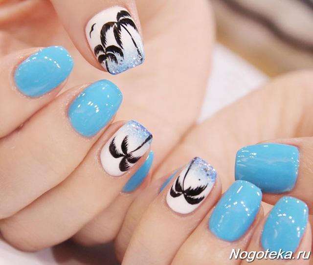 Дизайн Коротких Ногтей Светлые Тона Фото