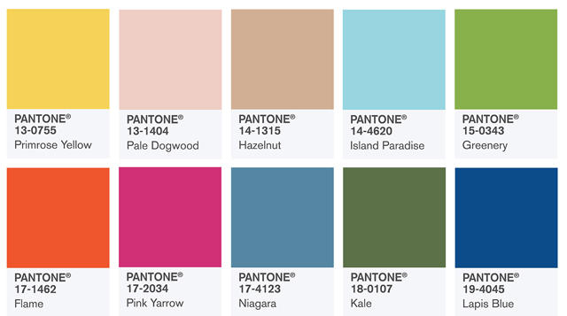 Модные цвета лето 2017 маникюр
